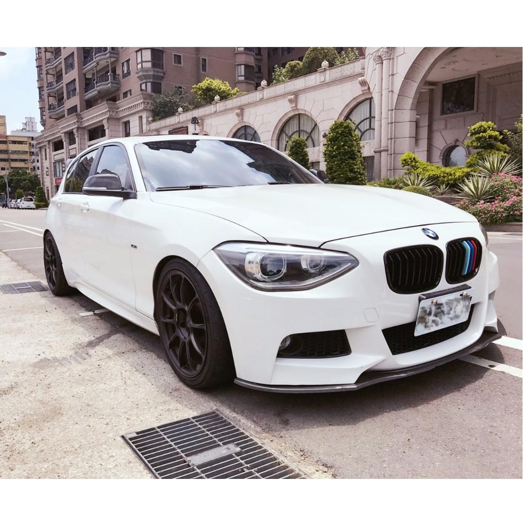 2012年 BMW 118i 白色sport天窗版