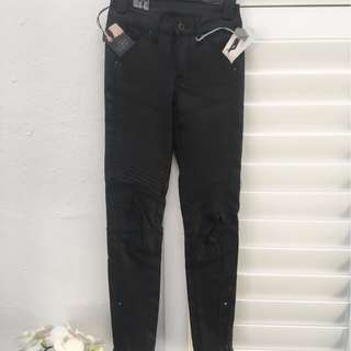 Black *G-STAR RAW* Denim Skinny Jeans W26 L30 Cropped Ankle %70+ off