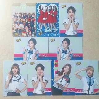 Twice限定專輯卡