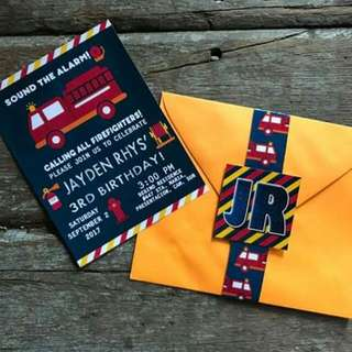 Invitation And Tarpaulin