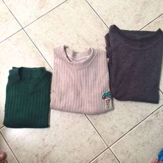 3 TOPS FOR 180 ONLY!!