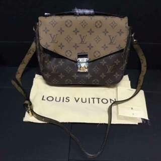 authentic  overRun LV sling bag