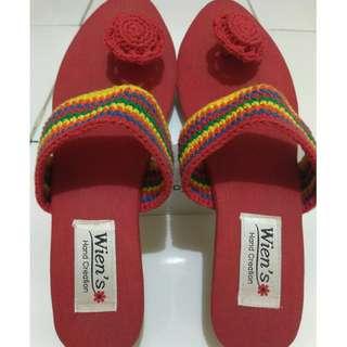 sandal wedges size 39/40