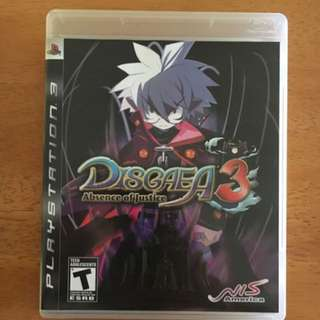 PS3: Disgaea 3 Absence Of Justice