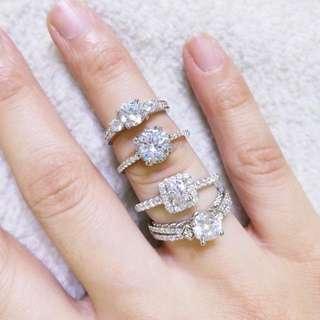 Swarovski Diamond Rings