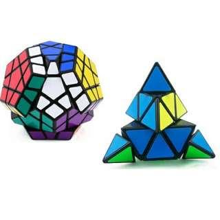 Natonal Day Special! Megaminx Magic Cube + Pyraminx Magic Cube For Only $19 (Original: $29)