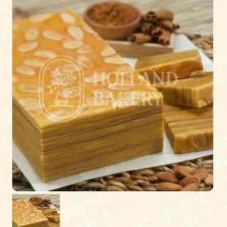 Pre-order Holland Bakery Lapis From Jakarta