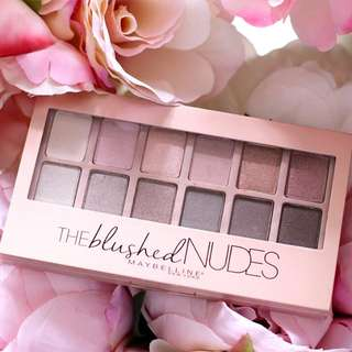 Maybelline Eyeshadow Palette - Blushed Nudes