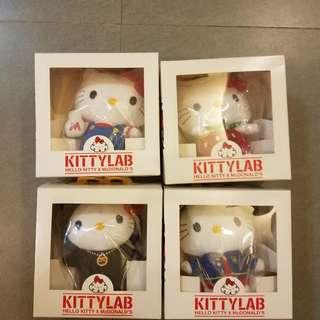 全新Hello Kitty 麥記公仔