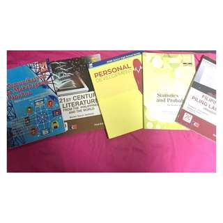 GRADE 11 BOOKS!!