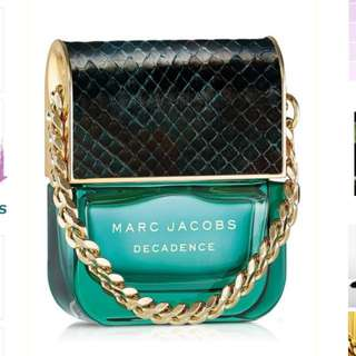 Authentic Marc Jacobs decadence Perfume