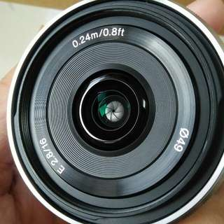 Sony 16mm/2.8 Wide Lens 99.9% New