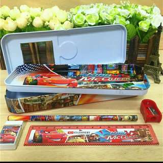 Children Day Offer!!! Cartoon Pencil Case Set. Suitable for all Children Event Party or Children Day Gift