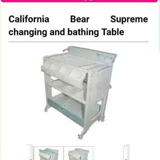 California Bear Supreme Changing BathingTable California Bear 換尿片冲凉桌