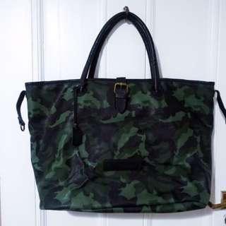 Calvin Klein Large Camouflage Tote Bag