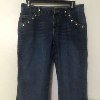 Bedazzled Boot Cut Jeans