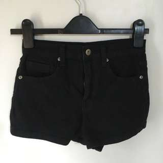 Forever 21 Black High Waist Shorts