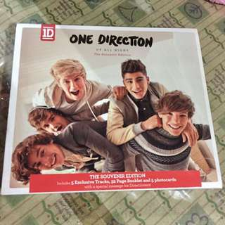 1D Up All Night souvenir edition