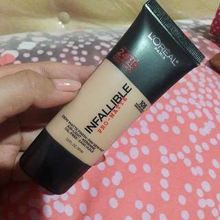 Foundation Loreal Infallible Pro-mate NEW