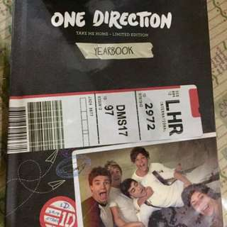 1D Take Me Home Yearbook Edition