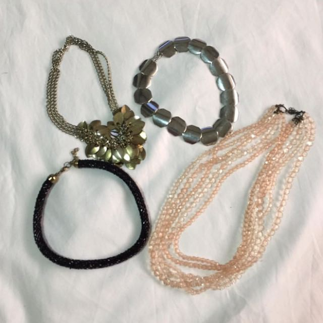 4pc Accesories Bundle From H&m/forever 21