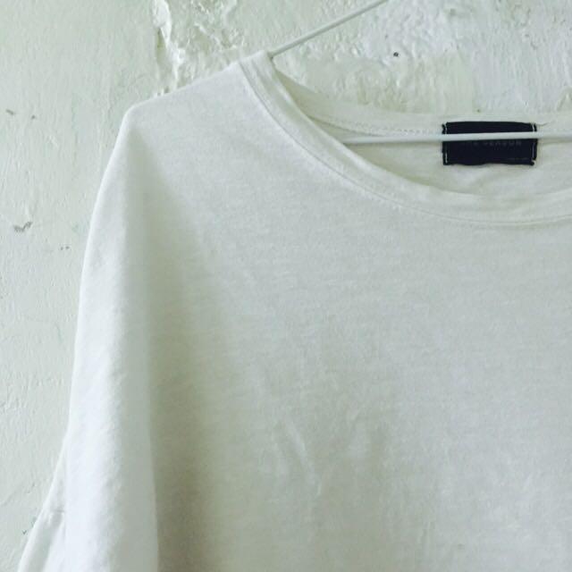 韓國🇰🇷七分袖修身上衣