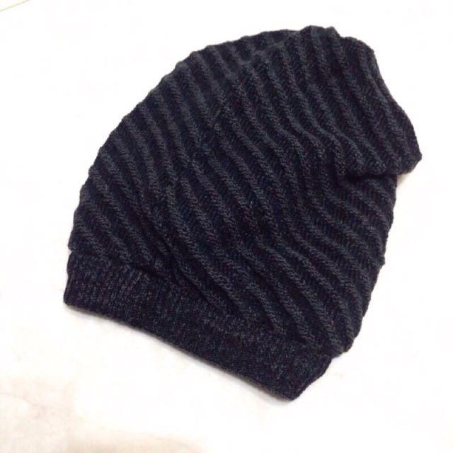 雙面 毛帽 針織帽 #冬季衣櫃出清
