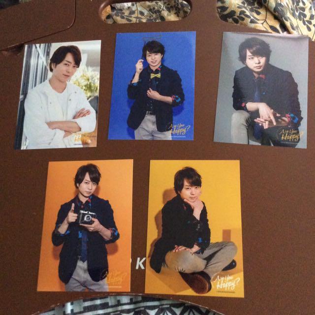 Are You Happy? Sakurai Sho Photos