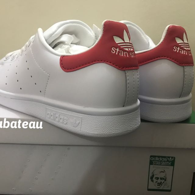 Authentic Adidas Stan Smith Red Tab