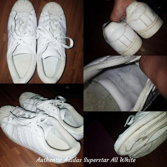 Authentic Adidas Superstar All White