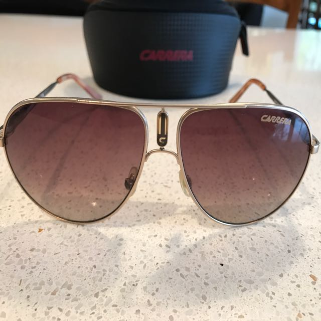 authentic Carrera Aviator Sunglasses