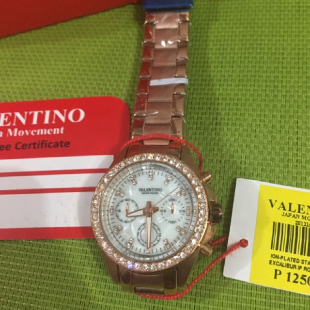 Authentic Valentino Watch Rose gold