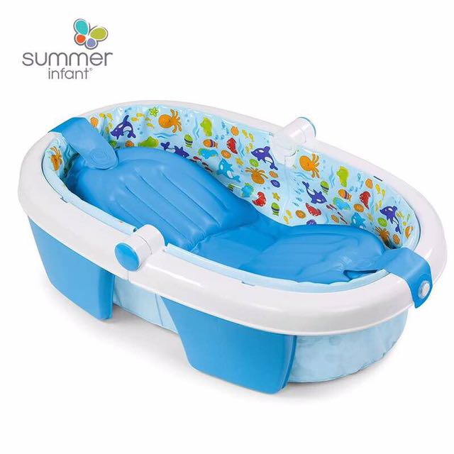 grande cotton the jewel solid inflatable bathing image babies inflating cartoon bath tub product plastic baby pool fold swimming safety newborn cushion bathe products equipment