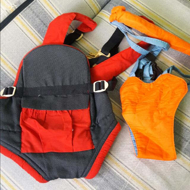 REPRICED! Baby Carrier & Walking Swing