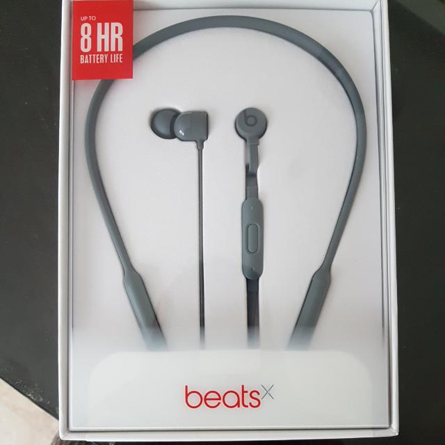 d71e4039596 Beats X Wireless Bluetooth Earphones Grey, Mobile Phones & Tablets, iPhone,  Others on Carousell
