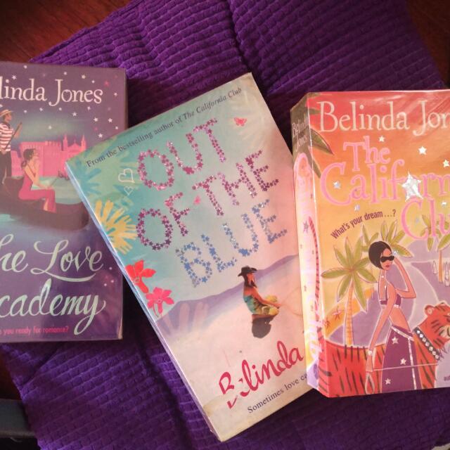 Belinda Jones Chicklit Romance Comedy Books