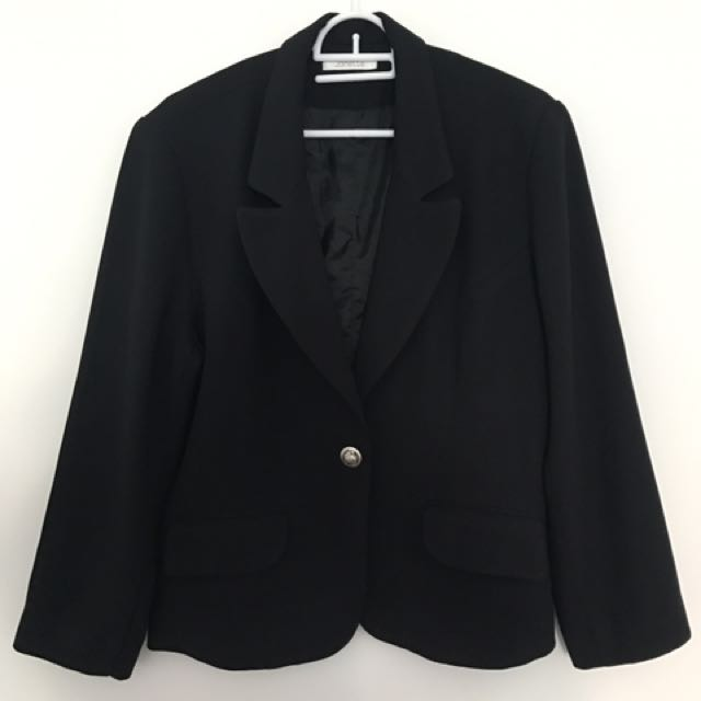 Black Formal-Blazer