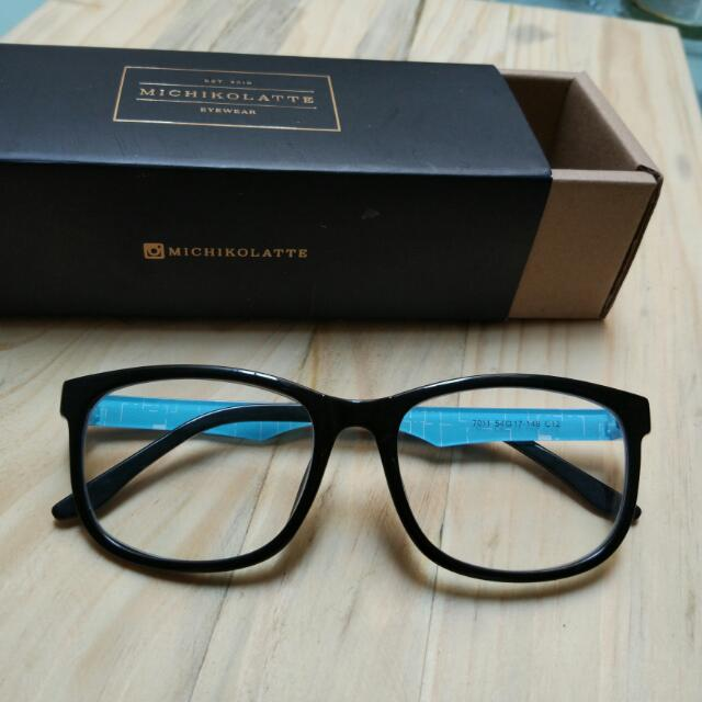 Black Frame Glasses