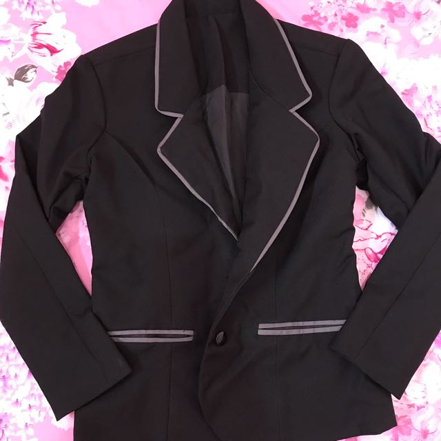 Black Office Blazer