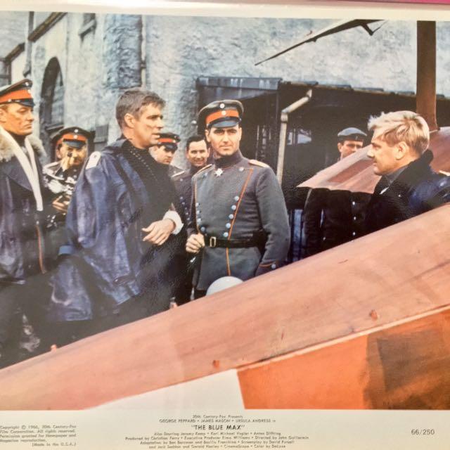 BLUE MAX (1966) Color Movie Still 8x10