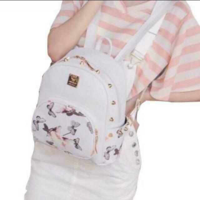 NEW Korean Backpack - White