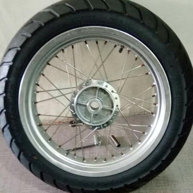 Brand New Motorbike Tire