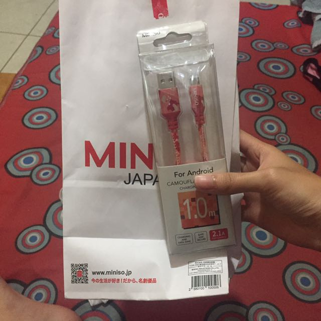 Brandnew Miniso Android Charger