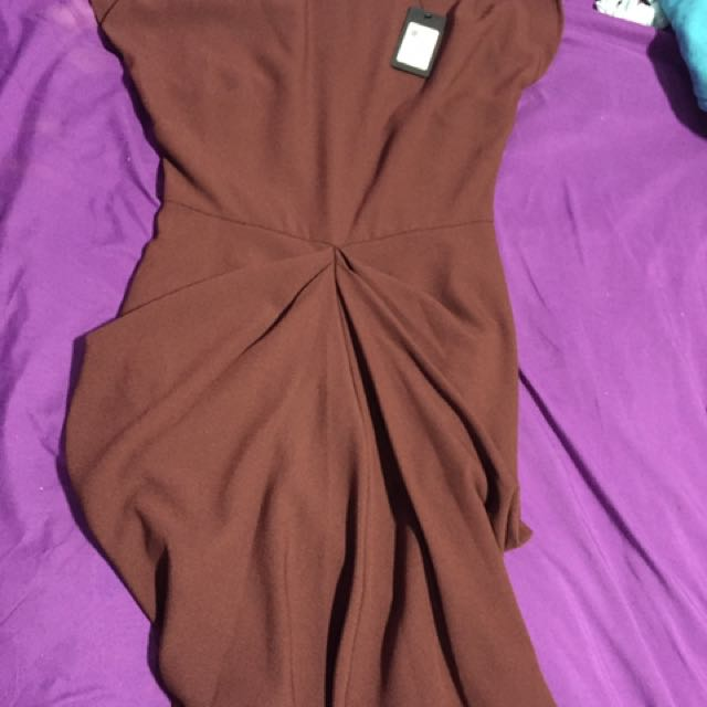 Brown Dress From GUESS