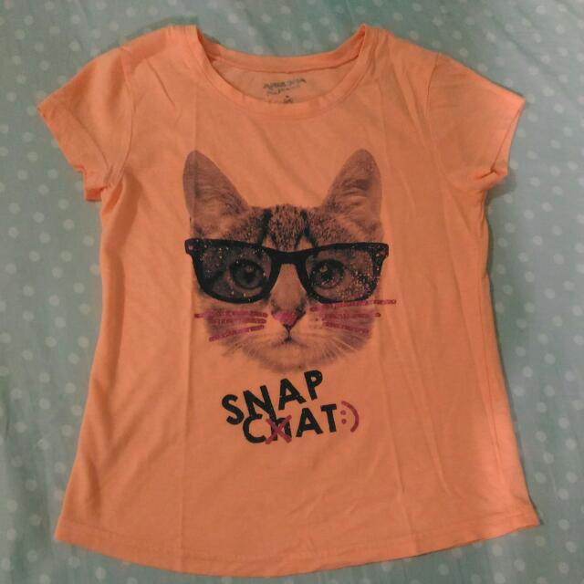Cat print shirt