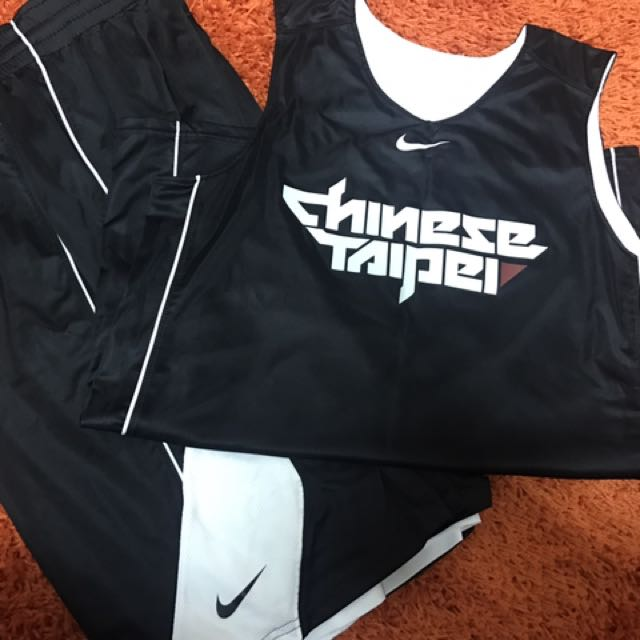 Nike Chinese Taipei 中華台北 雙面練習球衣球褲