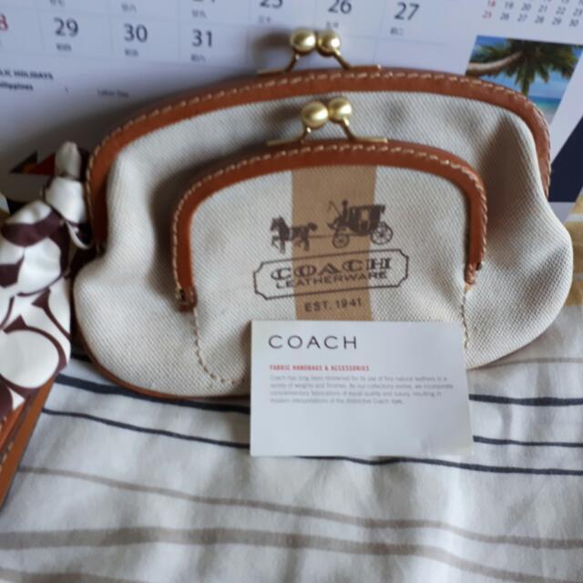 Coach Wristlet/pouch