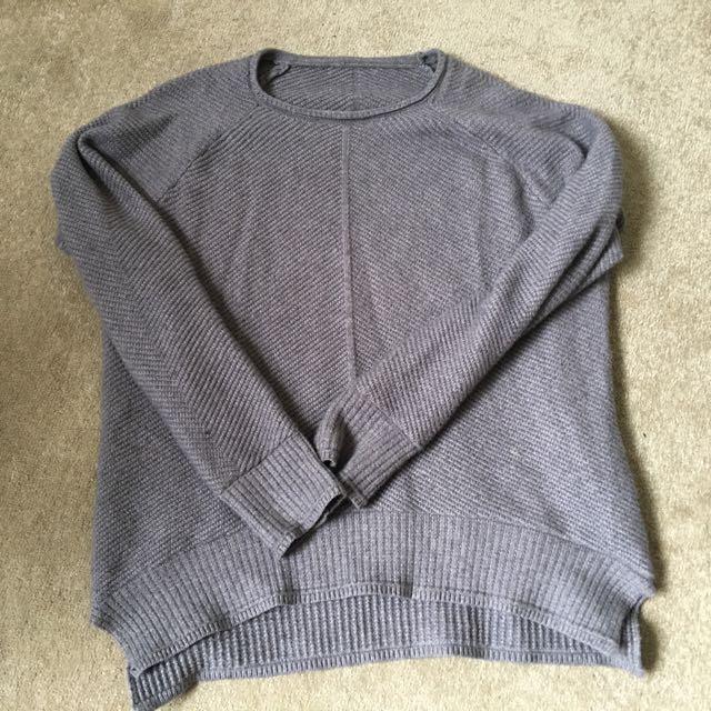 Comfy Grey Jumper