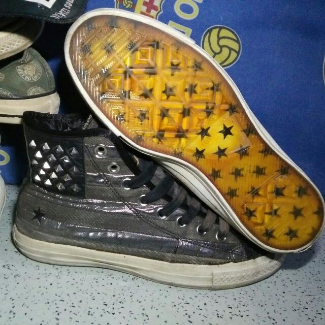 Reprice!!! Converse CT American Flag Studded Hi