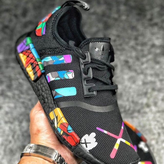6c9f5f0ef453 Customized Adidas NMD R1 X KAWS (PK)